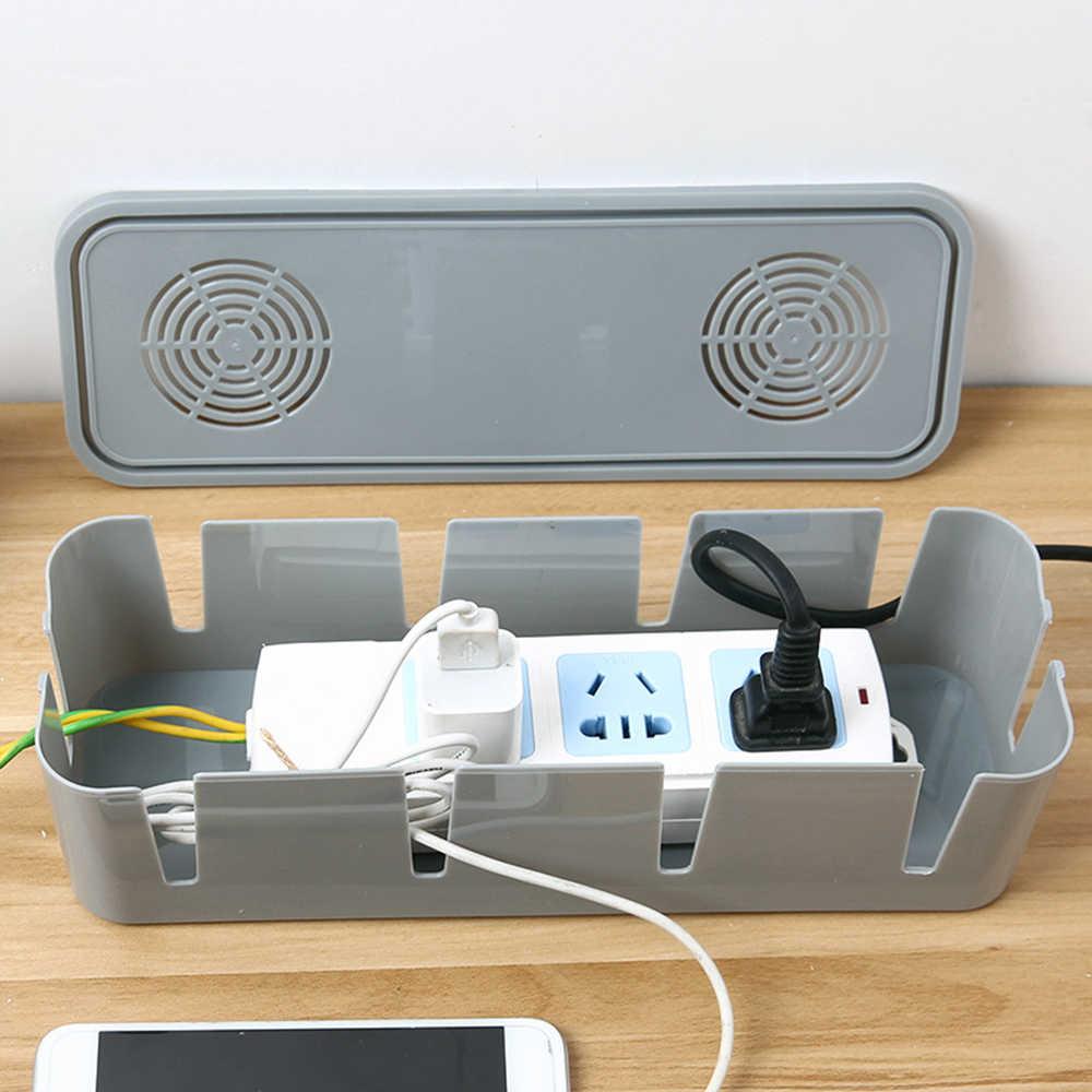 Storage Box Wire Management Socket Tidy