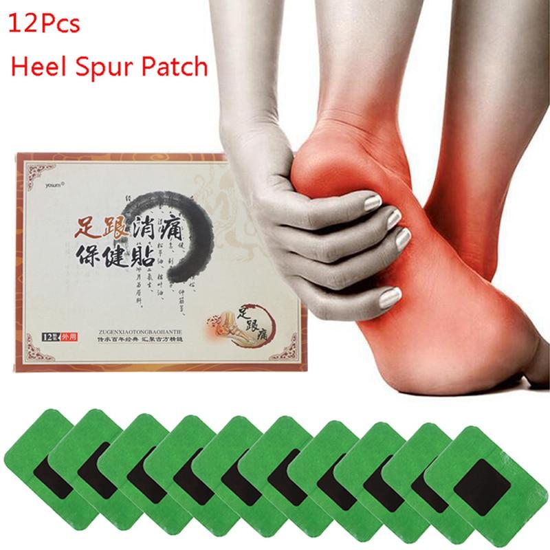 12pcs/bag Heel Pain Plaster Pain Relief Patch Herbal Bone Spurs Achilles Tendonitis Patch Foot Care Treatment Patches