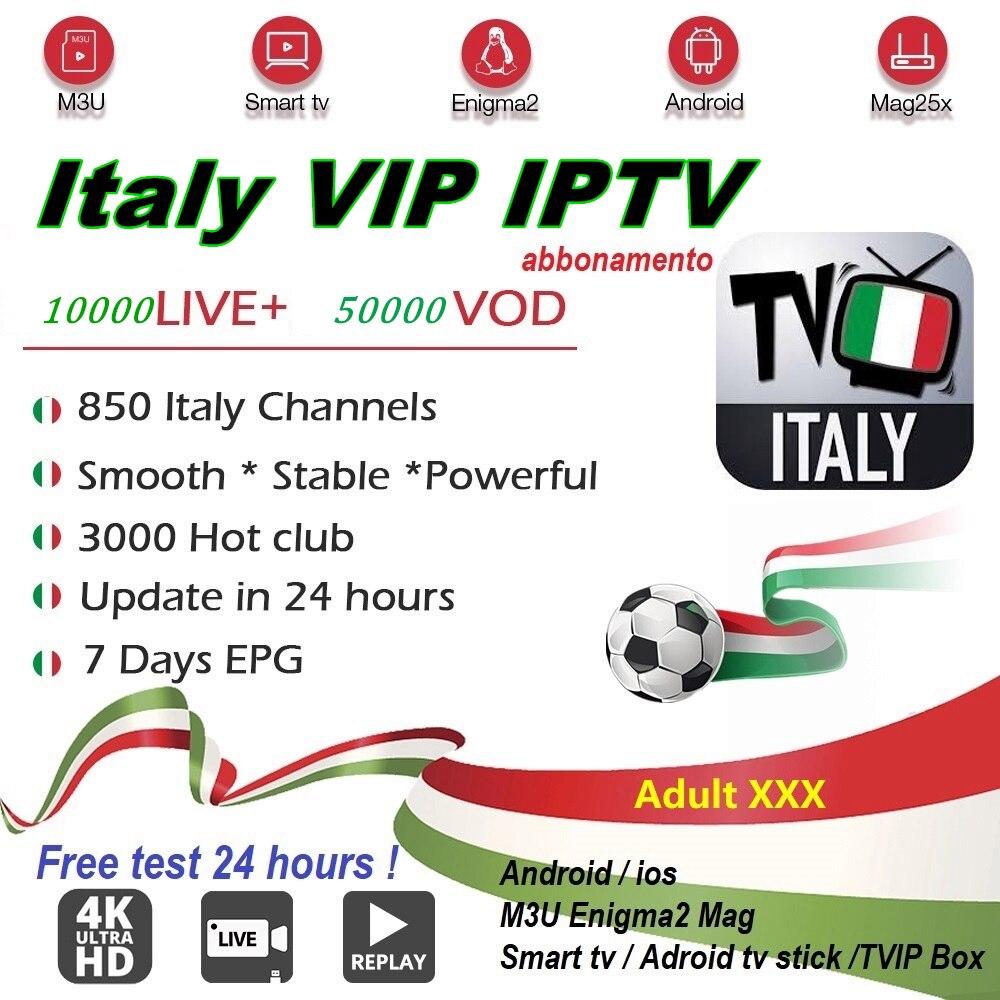 SLT Italy IPTV Subscription 8000 LIVE&VOD IPTV Albanian German UK USA Arabic Iptv Android Box Tv Smart Tv M3u Mag Enigma2 Adult