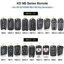 Keydiy 5 pces nb série multi-funcional fob remoto nb04 nb11 nb15 nb18 nb29 nb27 nb18 para kd900 urg200 KD-X2 todas as funções em um