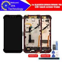 6.21 Blackview BV9600 شاشة الكريستال السائل + محول الأرقام بشاشة تعمل بلمس + الإطار الجمعية 100% الأصلي LCD + اللمس محول الأرقام ل BV9600 برو