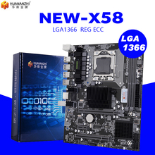 HUANANZHI X58 LGA 1366 motherboard unterstützung REG ECC server speicher und xeon prozessor Unterstützung LGA 1366 CPU