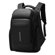 wholesale business commuter multi-function large capacity backpack PVC joker outdoor leisure mens bags