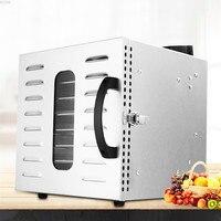 8 kat Ev Küçük boyutlu 110V Kurutulmuş Meyve Sebze Makinesi Dehidrasyon Ot Pet Et Kurutulmuş gıda kurutma makinesi