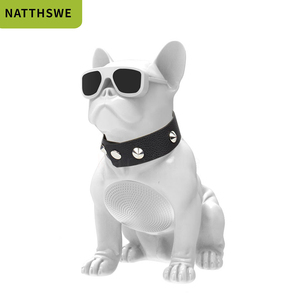 NATTHSWE Wireless Speaker Small Bulldog Bluetooth Speaker Aerobull Nano Wireless Bluetooth Speaker Outdoor Portable Bass Speaker