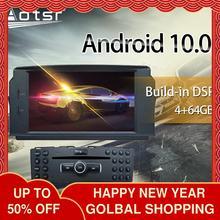 Android 10 DSP Mercedes Benz için C200 C180 W204 2007 2008 - 2010 araba multimedya radyo çalar Stereo ekran ses navi kafa ünitesi
