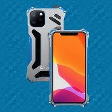 Étui de protection en métal de luxe pour iPhone 12 Max 12 Pro 11 Pro Max housse de protection pour iPhone 11ProMax Coque antichoc dure