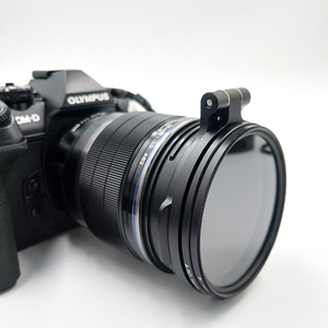 Image 2 - ND Filter Switching Bracket Quick Release Mount for Camera Nikon Sony Fuji DSLR Camera Lens Adapter Flip 58/67/72/77/82mm