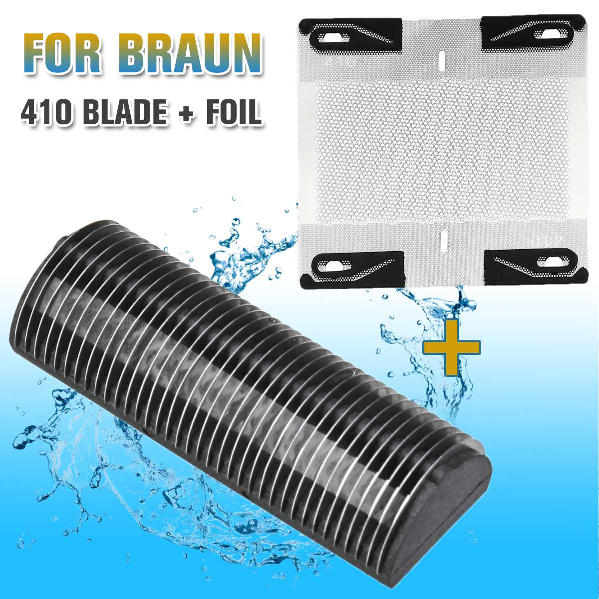 Replacement Shaver Head Foil Cutter For Braun Micron L 5410 For MICRON L S MICRON 6009 ELTRON 770 Foil Mesh Cutter Blade