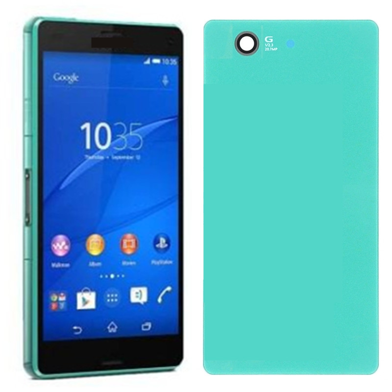 LCD For SONY Xperia Z3 Compact Display Touch Screen With Frame Plug Back Cover Z3 Mini D5803 D5833 For SONY Z3 Compact LCD