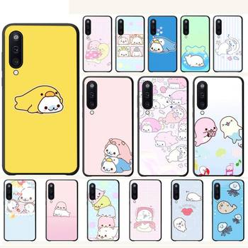 Cute animal seal mamegoma Luxury phone case cover for Samsung galaxy A10 A20 A50 A51 A70 A71 A40 A30 A30S A80 cases carcasa image