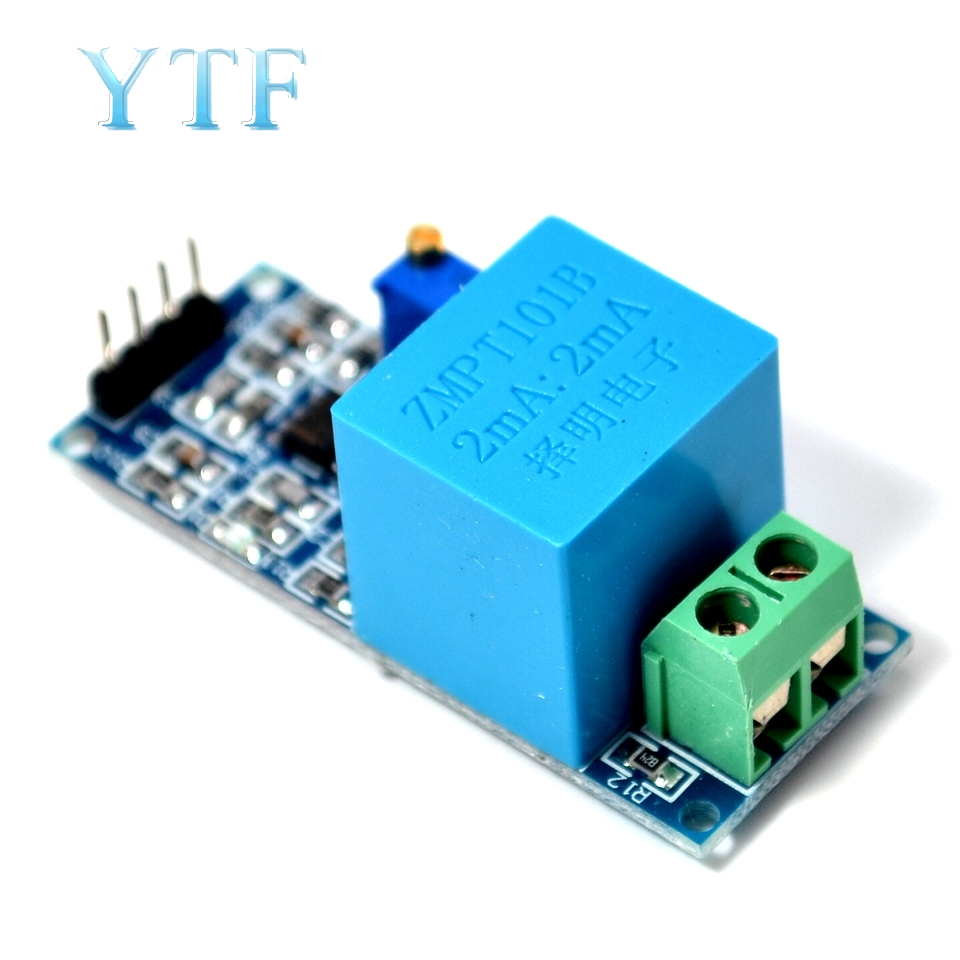 Active Single Phase Voltage Transformer Module AC Output Voltage Sensor For Arduino Mega ZMPT101B 2mA