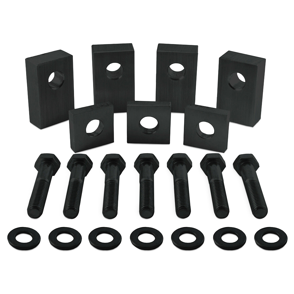 Tool Aluminum Easy Install Replacement Rear Seat Recline Kit High Strength DIY Washers Mount Bolts Car Accessories For Jeep Jk