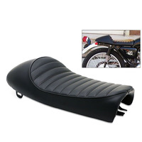 Retro Saddle For Honda CB350 CB500 CB750 Suzuki Vintage Hump Cafe Racer Seat