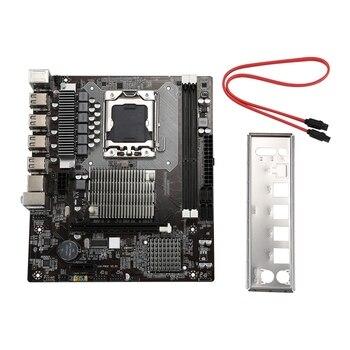 X58 Motherboard LGA1366 SATA2.0 USB2.0 DDR3 ECC/REG 32G Dual Channel RAM Memory For Xeon Series CPU