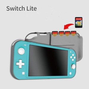 Image 4 - 18 in 1 Accessories Kit For Nintend Switch Lite Carrying Bag Case Charging Stand TPU Shell Type C Cable Tempered Screen Film