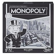 Hasbro Монополия Серебряная линия версия семейный развлекательный