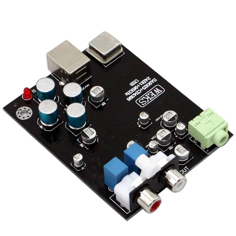 Audio SA9023 USB 2.0 Decoder Board CS4398 OPA2132 for 32 Ohm Decoder Amplifier