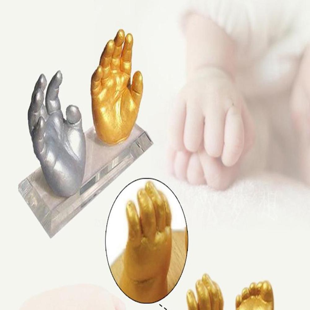 kit de carimbo gesso para bebe 01
