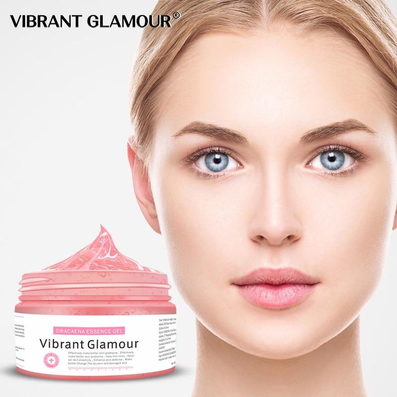 VIBRANT GLAMOUR Dracaena Essence Gel  Face Mask Cleaning Anit Aging Skin Care Depth Replenishment Pigmentation Corrector Cream