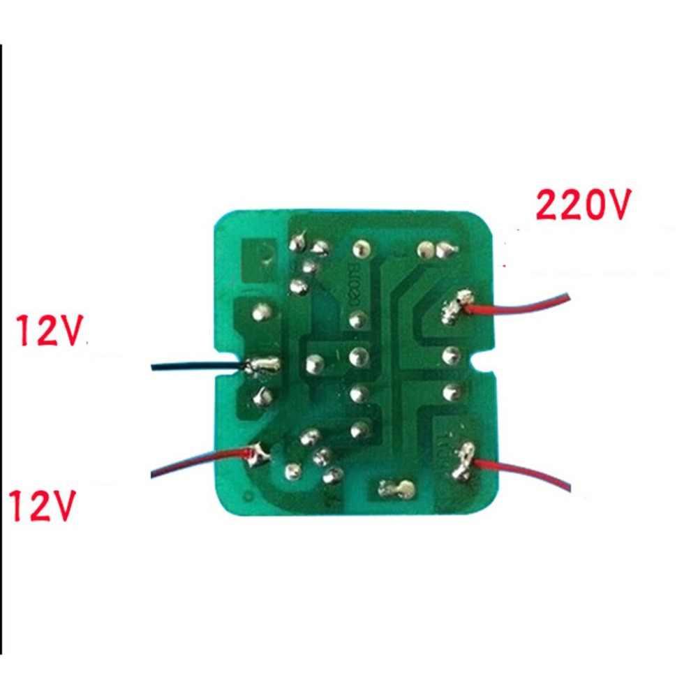 DC-AC/DC инвертор 12 В до 220 В повышение уровня питания модуль 40 Вт двухканальный обратный Конвертер доска один шаблон