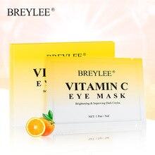 Breylee vitamin C Eye MaskCrystal Collagen Eye Cream Moisturizes Anti-aging Acne Beauty Eye Mask