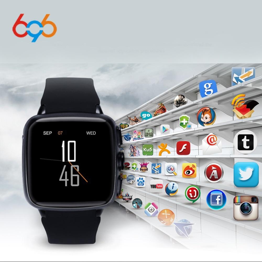 696 Z01 smart watch Android metel 3G smartwatch 5MP camera heart rate monitor Pedometer WIFI GPS reloj inteligente clock pk X02