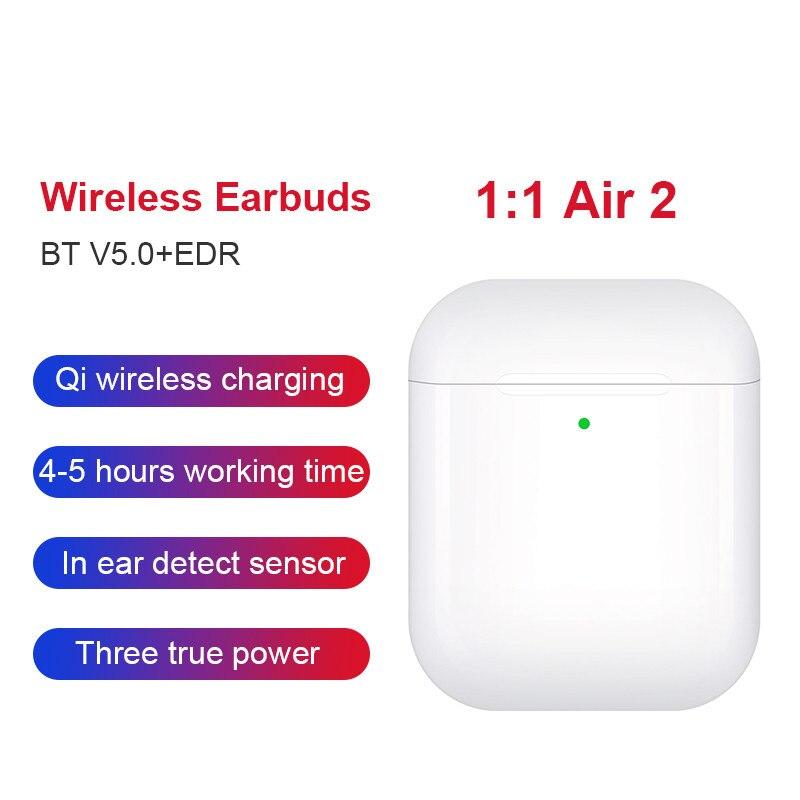 Nouveau Air 2 TWS Bluetooth écouteur Pk W1 intelligent capteur contrôle écouteurs Pop Up sans fil charge Pk i500 i200 i100 i12 i80 Tws