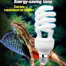 Réptil uvb 5.0 10.0 lâmpada para tartaruga lagarto cobra lguanas calor cálcio lâmpada de poupança energia réptil luz 13w 26w