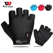 Cycling-Gloves BIKING Half-Finger Motorcycle Breathable Sports Women Anti-Slip-Pad MTB