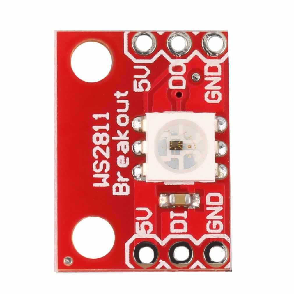 WS2812 1 5 V 5050 RGB светодиодный светильник Панель модуль полный Цвет для Arduino оптовая