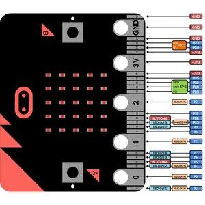 Microbit Micro: битовая разработка робота-платы Robotbit Python основная плата управления