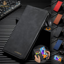 Luxury Business Wallet Phone Case For Huawei P30 Lite P30 Pro Nova 4E Magnetic Holder Funds Card Slots Leather Flip Stand Cover