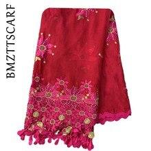 High Quality African women scarf Muslim new scarf type big y