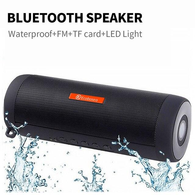Ecoboseo altoparlante del Bluetooth Portatile di Altoparlanti Senza Fili Per Il Calcolatore Del Telefono Musica Stereo surround Impermeabile Altoparlanti Esterni 6