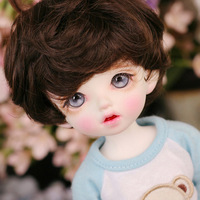 Full Set sd bjd Dolls 1/6 Cute Carol Boys Toys 27cm Doll Resin Joint Body With Wigs Makeup Chothes Shoes Best Gift For Kids