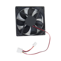 New For Computer PC Desktop Host DC Fan 4Pins 120mm IDE Chassis Cooling Fan