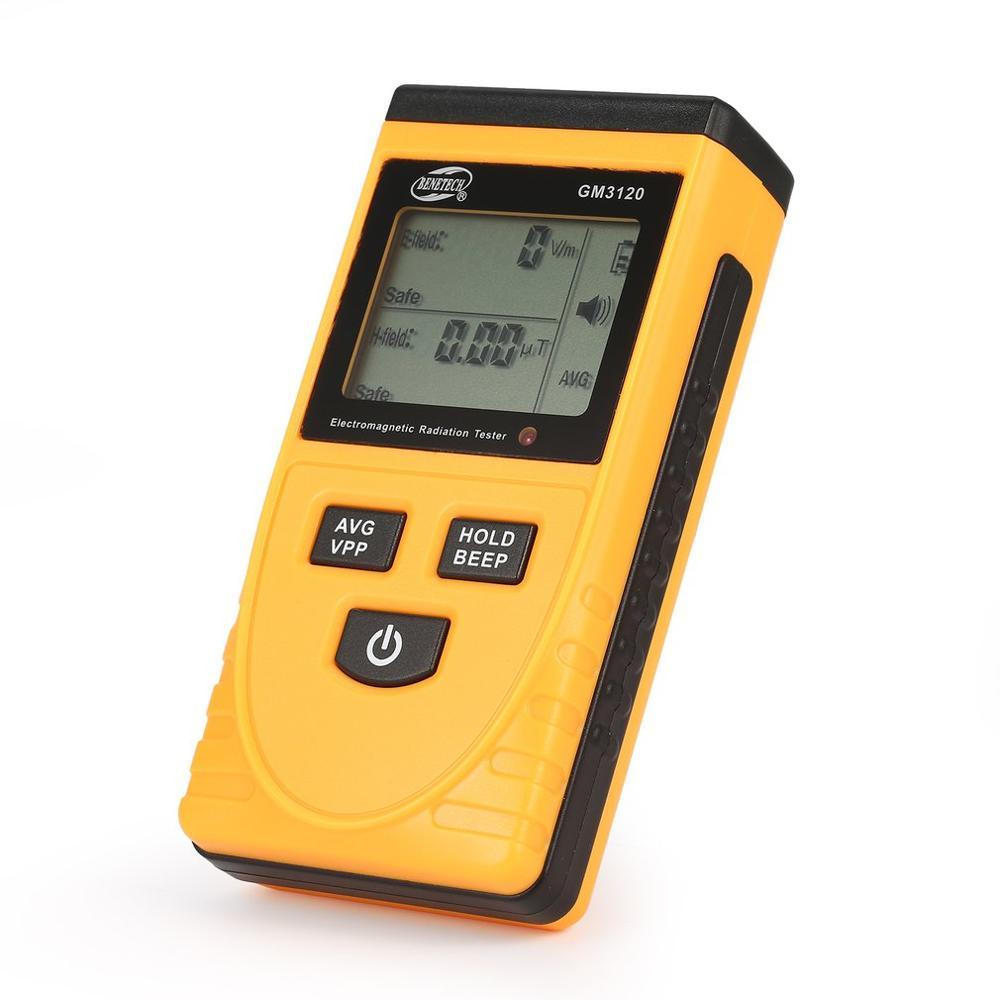 GM3120 LCD Monopoly Digital Electromagnetic Radiation Detector Dosimeter Meter Dosimeter Tester Counter For Computer Phone TV