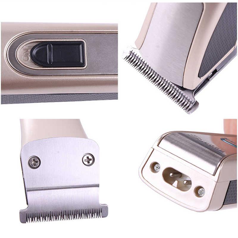 Портативный мини машинка для стрижки волос SK-3013 машинка для стрижки электробритвы триммер для бороды Мужская бритва с 4 расчески Maquillaje Прямая поставка