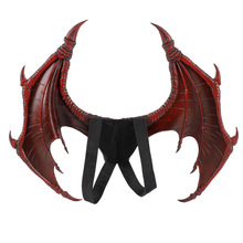 PU Foam Adult Child Bat Wings Wicked Horror Party Supplies Halloween Decoration Carnival Animal Costume Cosplay Prop