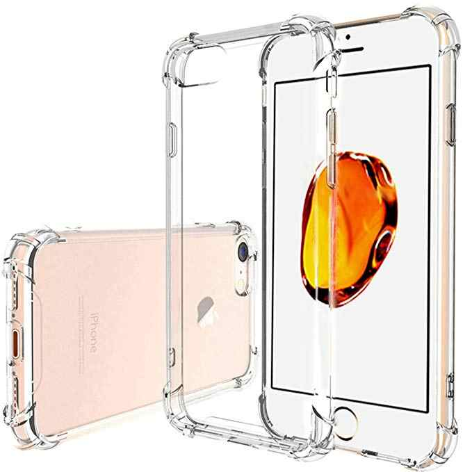 Clear Silicone Airbag Coque Voor Iphone 11 Pro X Xr Xs Max Dunne Fundas Voor Iphone 6 6S 7 8 Plus Tpu Voor Iphone 5 5S Se Case Capas