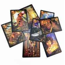 47 карточек Позолоченные Reverie Lenormand: расширенное издание массовый рынок в мягкой обложке с онлайн-справочником для детей аудит игры