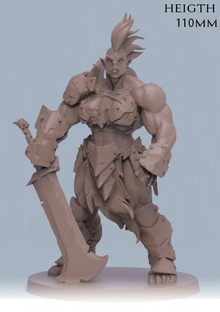 110mm Ancient Fantasy Female    Stand (NO BASE ) Resin Figure Model Kits Miniature Gk Unassembly Unpainted
