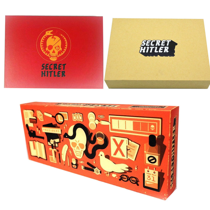 Secret Hitlers Board Games Card Hidden Roles Games A Social Deduction Game For Party