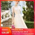 Женское кружевное вечернее платье Young Gee, элегантное летнее приталенное платье-миди с вышивкой и жемчужинами, изящное прозрачное платье бел...