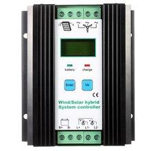 Wind&Solar Hybrid PWM Controller(600W Wind+400W Solar) 12V/24V Automatic