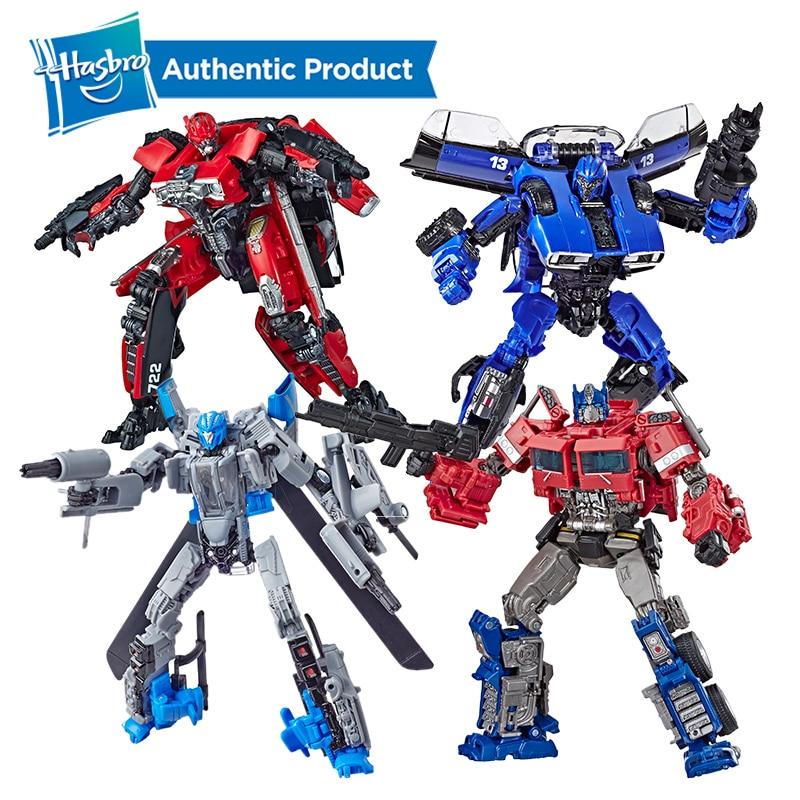 Hasbro Transformers Studio Series Deluxe Class Transformers SS38 Bumblebee Dropkick Cogman Scrapmetal Red Lightning Optimus