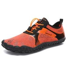 Летняя водонепроницаемая обувь; Мужская дышащая Спортивная обувь; пляжные сандалии; спортивные шлепанцы; дышащая обувь; носки для дайвинга; Tenis Masculino