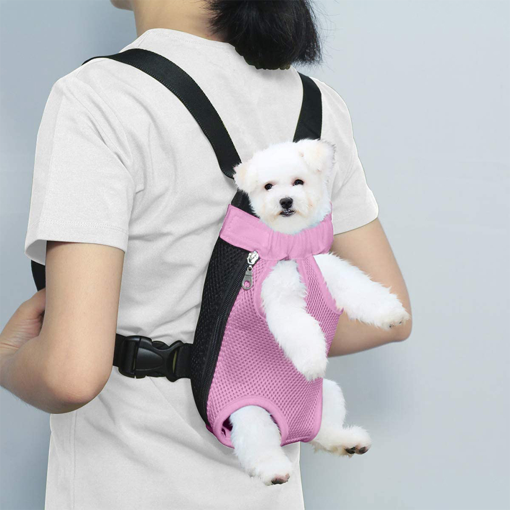 Сетчатый рюкзак для переноски домашних питомцев воздухопроницаемая