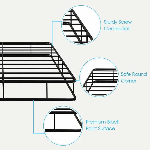 Queen Size Platform  Bed Frame  3